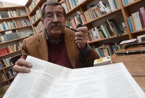 Poetry takes down GünterGrass