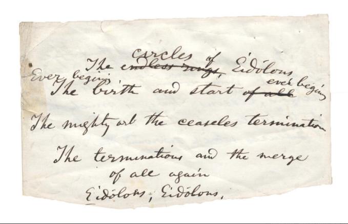 The roy davids collection: poem manuscripts Icovet