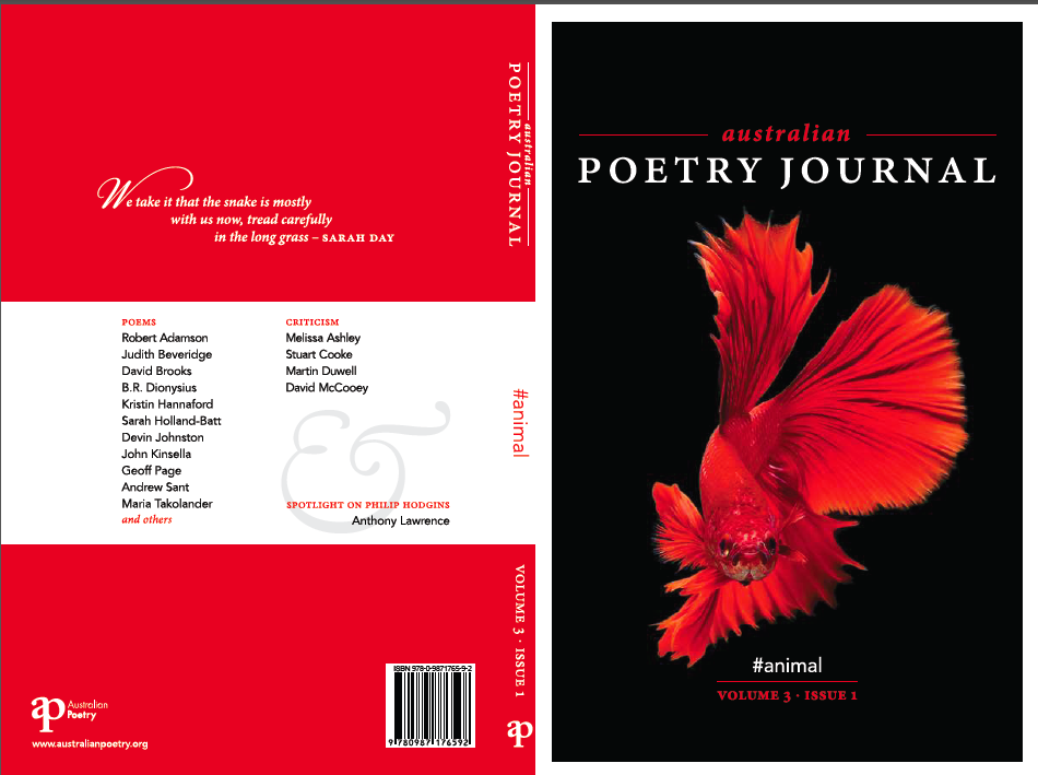 Foreword: australian poetry journal 3.1 #animal